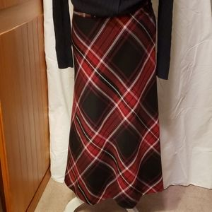 East 5th Plaid Skirt Size 4